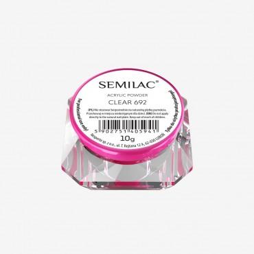 Semilac zdobiaci akrylový prášok 692 clear 10 g