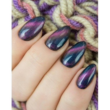 Semilac - gél lak Cat eye Violet 3D  637