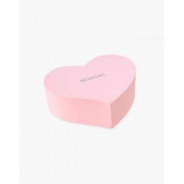 Box na gél laky v tvare srdca Semilac