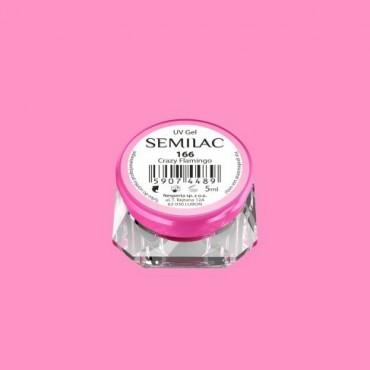 Farebný uv gél Semilac 166