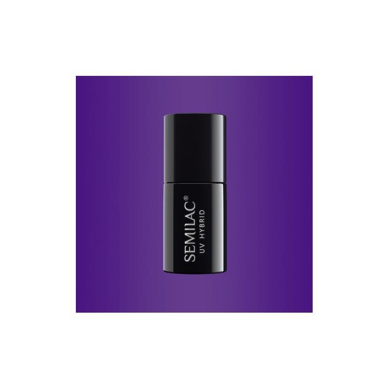 Semilac - gél lak 146 Purple King 7ml