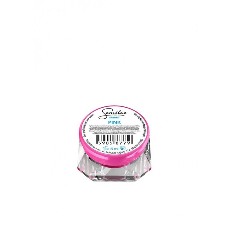 Semilac smart uv gél pink - 5 ml