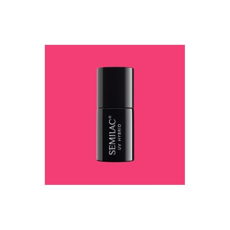 Semilac - gél lak 008 Intensive Pink 7ml