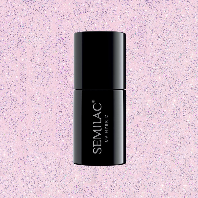 Semilac Extend 5v1 806 Glitter Delicate Pink 7ml