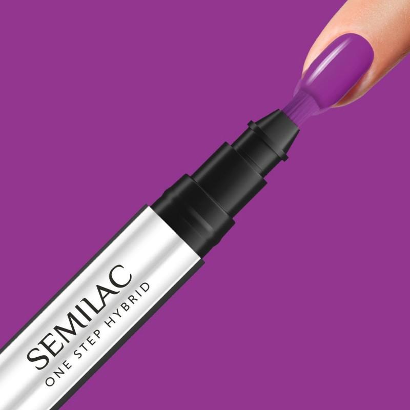 Semilac One Step gél lak S760 Hyacinth Violet