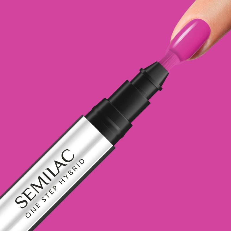 Semilac One Step gél lak S685 Pink Purple