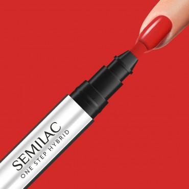 Semilac One Step gél lak S530 Scarlet