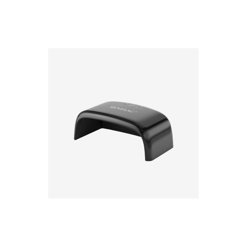 Semilac mini UV/Led lampa -12W čierna