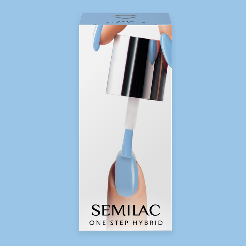 Semilac One Step gél lak S810 Baby Blue 5ml