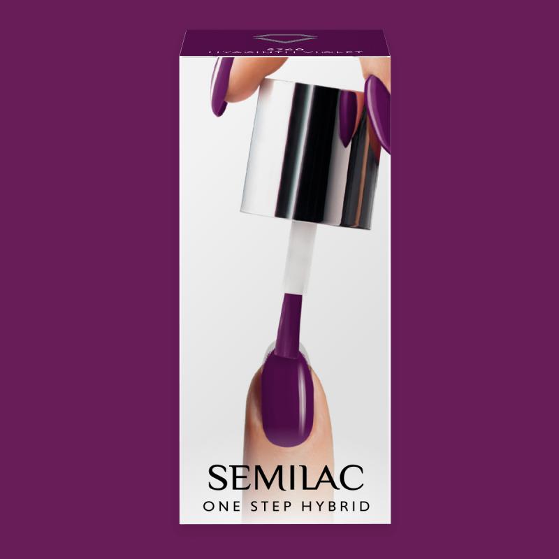 Semilac One Step gél lak S760 Hyacinth Violet 5ml