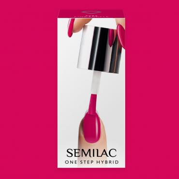 Semilac One Step gél lak S685 Pink Purple 5ml