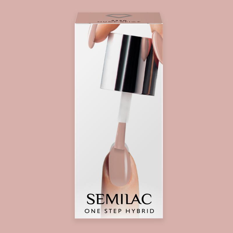 Semilac One Step gél lak S220 Nude Beige 5ml