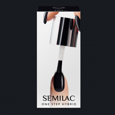 Semilac One Step gél lak S190 The Black 5ml