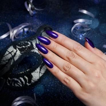 Semilac - gél lak 342 Navy Blue Glitter 7ml