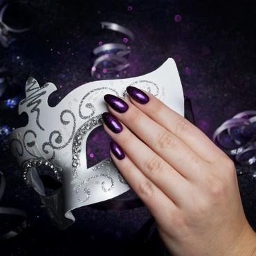 Semilac - gél lak 343 Shimmer Violet 7ml